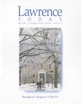 Lawrence Today, Volume 80, Number 2, Winter 1999