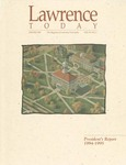 Lawrence Today, Volume 76, Number 2, Winter 1995 by Lawrence University