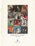 President's Report 1993-1994