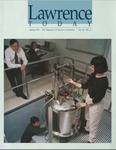 Lawrence Today, Volume 81, Number 3, Spring 2001