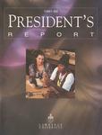 President's Report 1991-1992