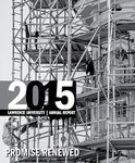 Lawrence University Annual Report, Fall 2015