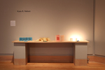 Bibliophile: Installation view of Books and Prints, Wriston Art Center Galleries, May 2012 by Katie R. Nelson