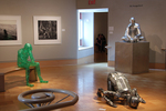 Installation view of Materealization, Wriston Art Center Galleries, May 2012 by Eli Hungerford