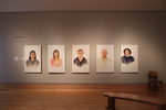 Installation view of Eye Contact , Wriston Art Center Galleries, May 2012