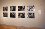 Installation view of Stigma: Portrayals of Mental Illness, Wriston Art Center Galleries, May 2013 by Alyssa Gagg