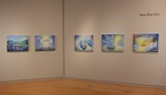 Installation view of Lavendar Storm, Wriston Art Center Galleries, May 2013 by (Nina) Zhan Guo