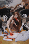 Leda by Sadie J. Lancrete