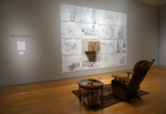 An Artist's Introspection Through Drawing: Installation View