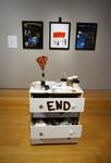 Ends, Glittering, gleaming-- This Point In Time is gone ––> On! On! On!, Installation View