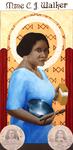 Innovating a Legacy: Madam C. J. Walker (Detail 1) by Aedan R. Gardill