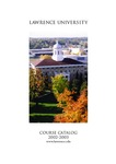Lawrence University Course Catalog, 2002-2003 by Lawrence University