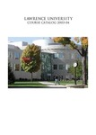 Lawrence University Course Catalog, 2003-2004 by Lawrence University