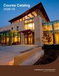 Lawrence University Course Catalog, 2009-2010