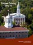 Lawrence University Course Catalog, 2012-2013 by Lawrence University
