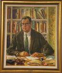 Douglas M. Knight, President, 1954-1963 by Thomas Dietrich